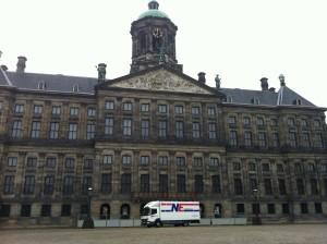 De Dam in Amsterdam
