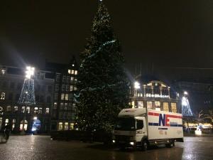 Kerst op de Dam in Amsterdam
